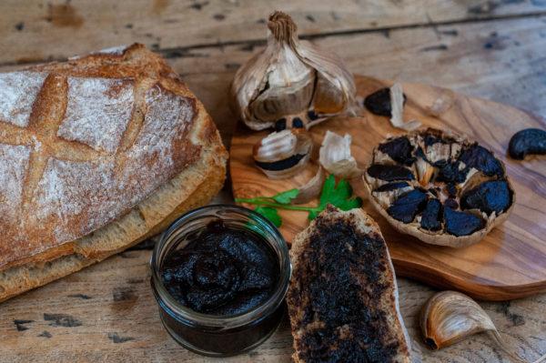 Ail noir Bio en pâte - Organic Black Garlic paste