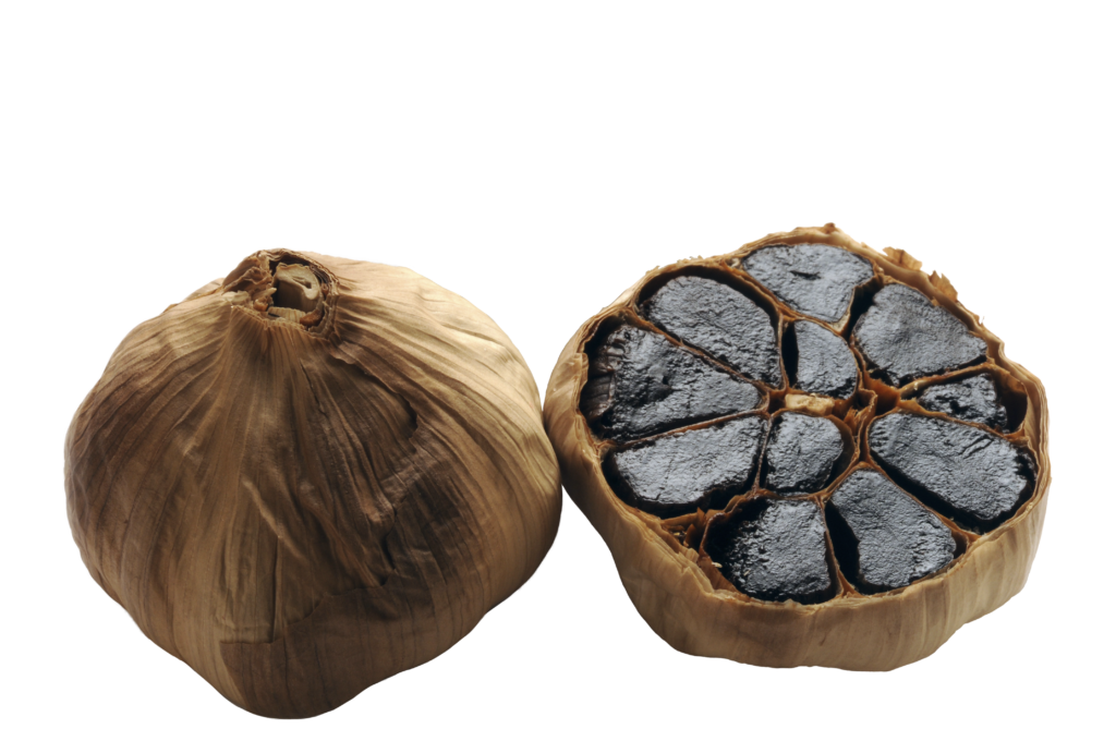 Ail noir - Black Garlic -