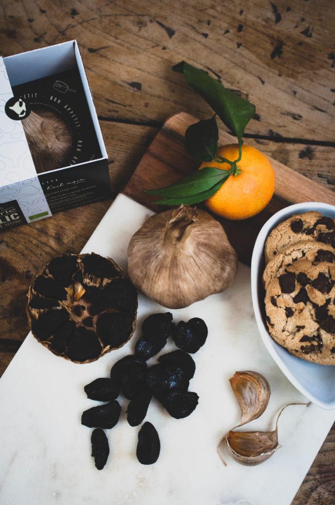 Ail noir - Black Garlic - L'étuverie - Recette - Recipes - salé sucré