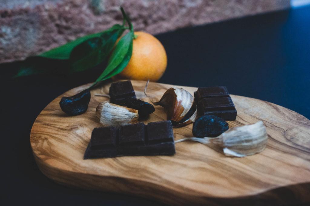 Ail noir bio Gers - Organic Black Garlic France - L'étuverie
