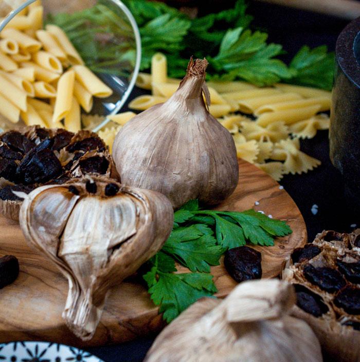 Ail noir Bio - Organic Black Garlic - L'étuverie - Recette - Recepies