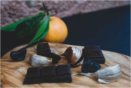 Ail noir - Black Garlic - Recette Sucré - Sweat Recipes-L'étuverie