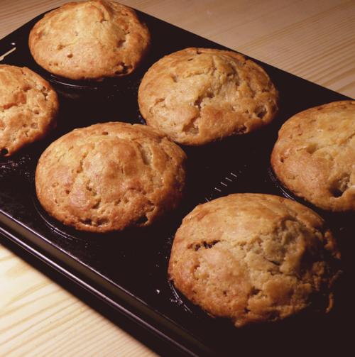 Muffins au miel et ail noir bio