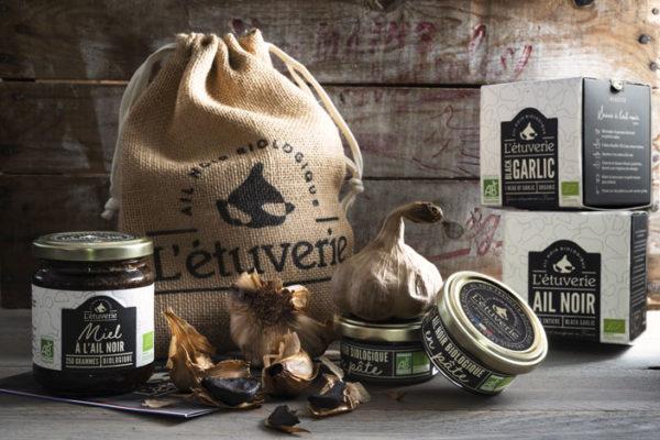 coffret dégustation d'ail noir bio - Organic black garlig tasting kit