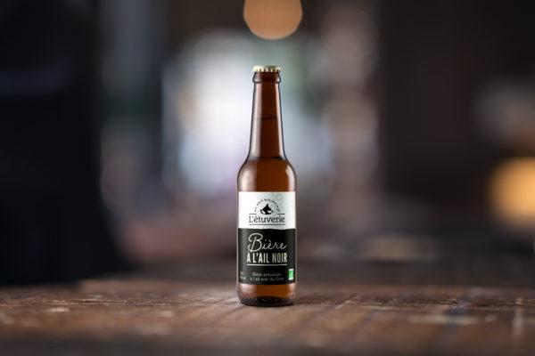 Bière à l'ail noir bio